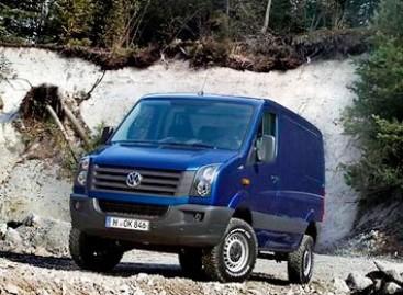 """""""Volkswagen"""" pristatė """"Crafter 4MOTION"""""""