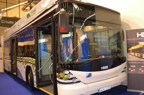 Kortrijke HESS pristatė naują hibridinį autobusą