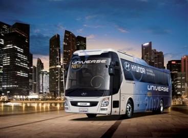Naują autobusą pristatė Hyundai