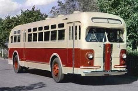 Pirmasis sovietinis vagoninis autobusas atšventė 65 metų jubiliejų