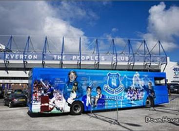 Gražiausi futbolo komandų autobusai