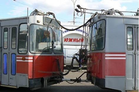 Autotraukiniai – iš troleibusų