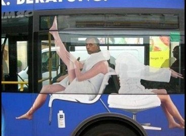 Autobuse – sporto salė