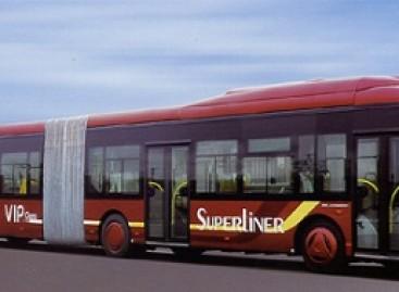 Kinijoje pasirodė talpiausias pasaulyje miesto autobusas