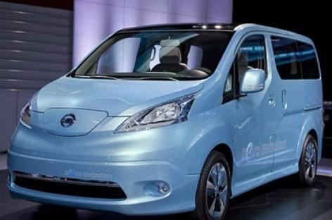 Nissan elektrovenas e-NV200