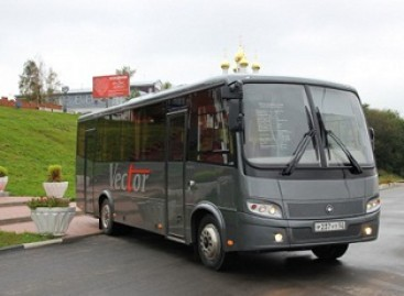 """PAZ atnaujina """"Vector"""" autobusą"""