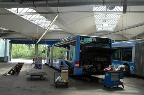 Autobusų dyzelinių variklių patikra – griežtesnė
