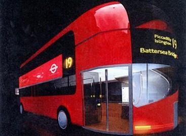 Londono gatvėse pasirodė naujieji autobusai