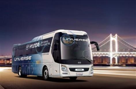 """""""Hyundai Motor Company"""" pristatė atnaujintą autobusą"""