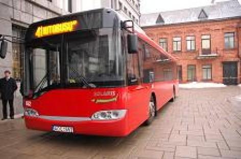 Viešojo transporto bendrovės bendradarbiaus su Kauno policija