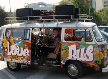 Meilės dieną – meilės autobusai