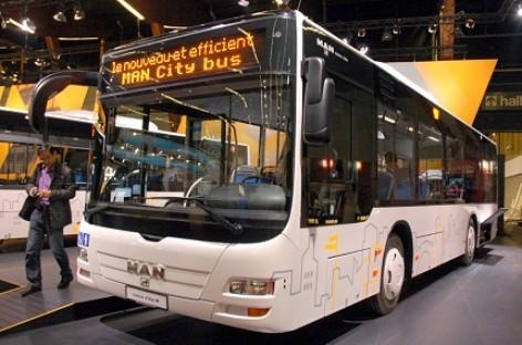 Vilniečius veš nauji MAN autobusai