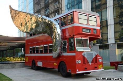 Skrendantis autobusas