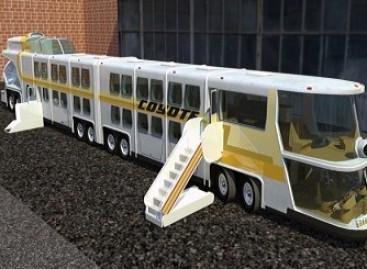 Gigantiškas autobusas