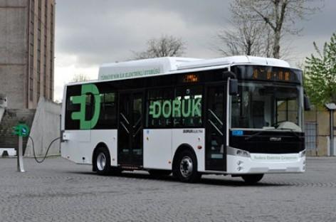 """""""Busworld Turkey 2012"""" – pirmasis turkiškas elektrinis autobusas"""