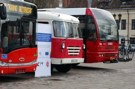 """Naujieji """"Solaris Urbino 12 CNG"""" pristatyti kauniečiams"""