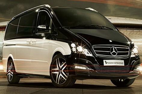 Daimler AG pristatė Mercedes-Benz Viano Vision Diamond