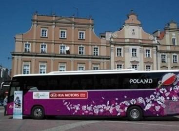 Pristatyti Euro 2012 komandų autobusai