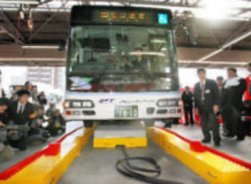 Sklandantis autobusas