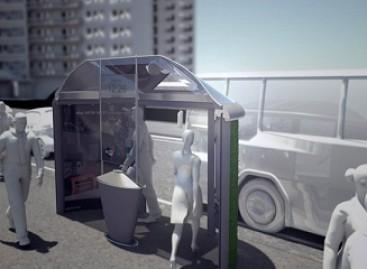 Išmanioji autobusų stotelė