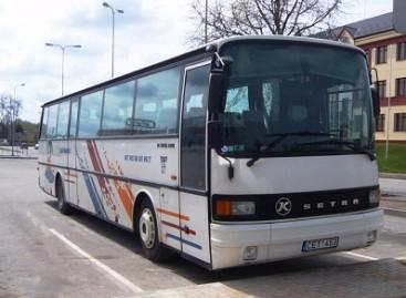 Utenos autobusų parkas švenčia dvidešimtmetį