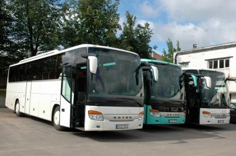 TOKS autobusų parką papildė penki modernūs Setra