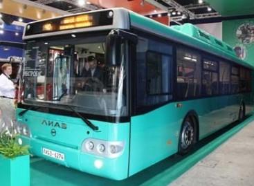 LiAZ pristatė elektrinį autobusą
