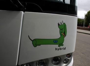 Panevėžiečiai išbandė hibridinius autobusus