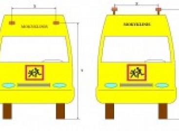Patvirtinti reikalavimai mokyklinių autobusų ženklinimui