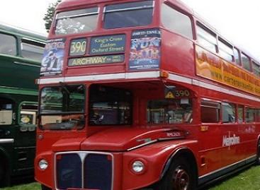 Dviaukščių autobusų istorija