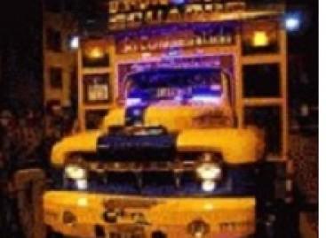 Ispanijoje – diskoteka autobuse