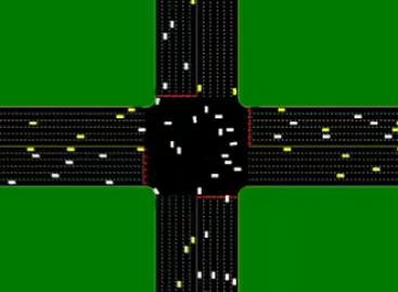 Automobiliai be vairuotojų – sankryžos be šviesoforų