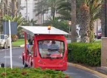 Ispanijoje – saulės energija varomas autobusas (video)