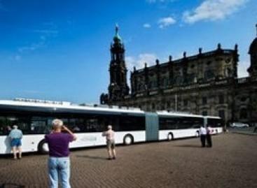 Drezdene – ilgiausias pasaulyje autobusas