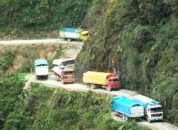 Bolivijos mirties kelias: dar viena auka (video)