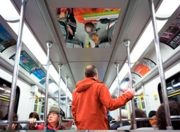 Autobusuose – reklama plinkantiems