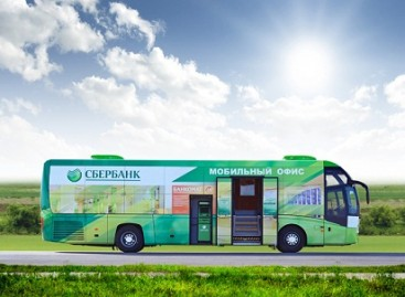 Autobuse – banko skyrius