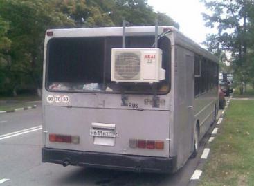 Autobusai – su kondicionieriais