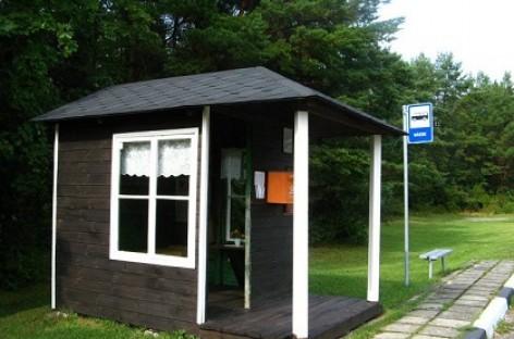 Išskirtinės Saaremaa salos autobusų stotelės