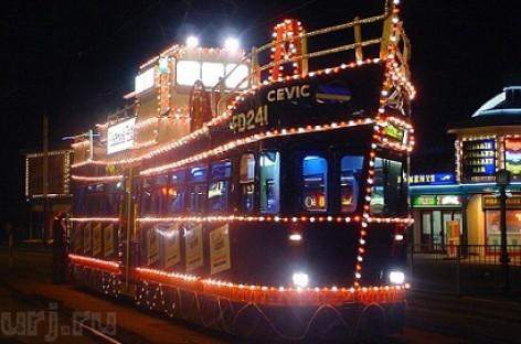 Blekpulo tramvajus – muziejus ant ratų