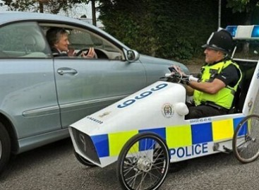 Neįprasti policijos automobiliai
