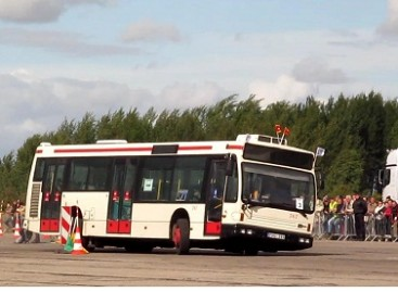Geriausi autobusų vairuotojai – kauniečiai (video)