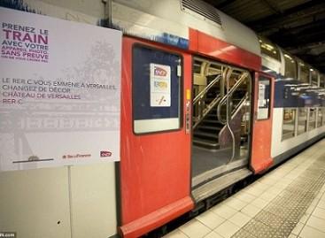 Metro vagonas – su siurprizu