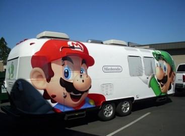 """""""Nintendo"""" žaidimų automatai ant ratų"""