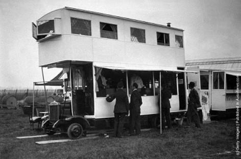 Autobusas baras – iš praeities