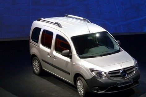 """Citan"" – kompaktiškas ""Mercedes-Benz"" minivenas"