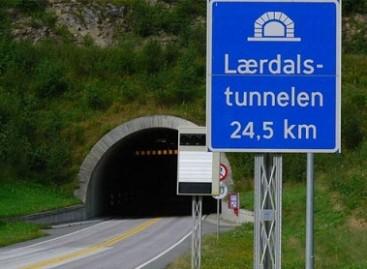 Ilgiausias pasaulyje tunelis – Norvegijoje