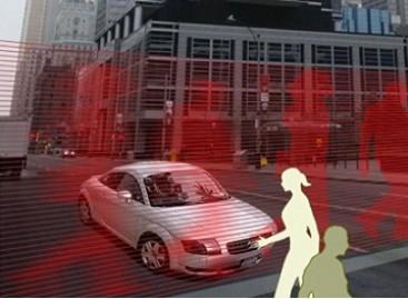 Vairuotojus stabdys virtualūs pėstieji