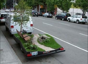 Mini parkas ant ratų