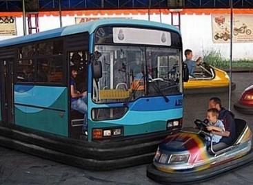 Autobusai – vaikystės atrakcionai